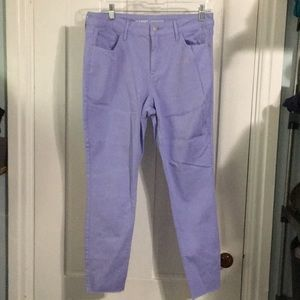 Old Navy Purple Rockstar Jeans